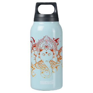 Lord Ganesha India Yoga Meditation Spirituality Insulated Water Bottle