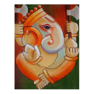 Lord Ganesha Post Card