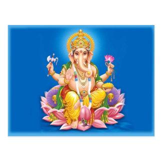 Lord Ganesha Postcard