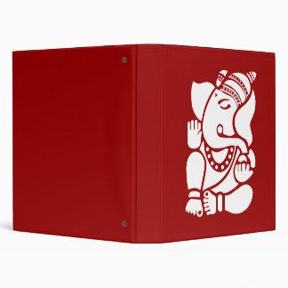 Lord Ganesha Sign 3 Ring Binder