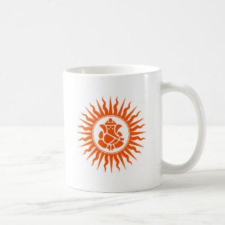 Lord Ganesha Sign Coffee Mugs