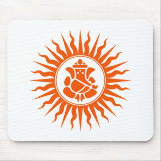 Lord Ganesha Sign Mouse Pad