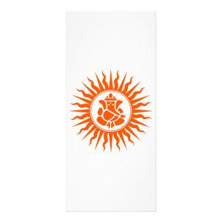 Lord Ganesha Sign Rack Card Design