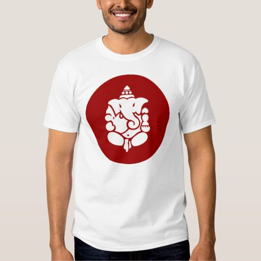 Lord Ganesha Sign T Shirt