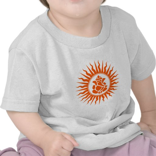 Lord Ganesha Sign Tshirts