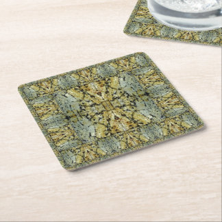 Lord Ganesha - The Omnipresent Square Paper Coaster