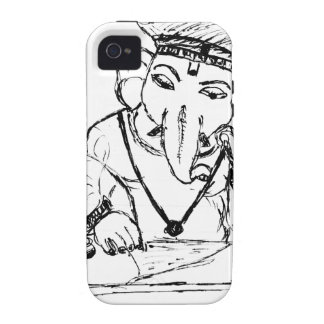 Lord Ganesha.tif Case-Mate iPhone 4 Cover