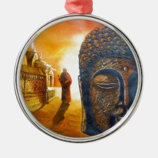 Lord Gautama Buddha Metal Ornament