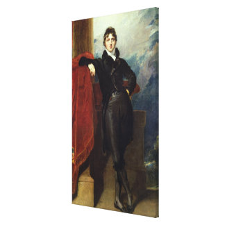 Lord Granville Leveson-Gower, Later 1st Earl Granv Canvas Print