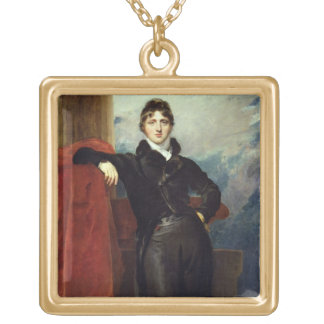 Lord Granville Leveson-Gower, Later 1st Earl Granv Gold Plated Necklace
