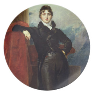 Lord Granville Leveson-Gower, Later 1st Earl Granv Plate