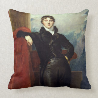 Lord Granville Leveson-Gower, Later 1st Earl Granv Throw Pillow