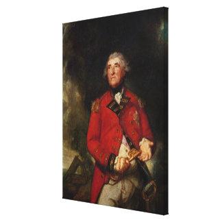 Lord Heathfield  Governor of Gibraltar Canvas Print