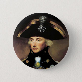 Lord Horatio Nelson Pinback Button