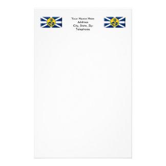 Lord Howe Island Flag Gem Stationery