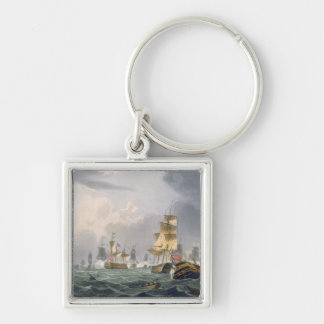 Lord Howe's Victory, 1st June 1794, engraved by Th Keychain