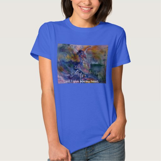 Lord I Give You My Heart Woman's T-Shirt
