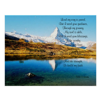 Lord I need your blessings Poster