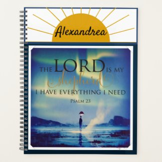 Lord is My Shepherd Faith Planner