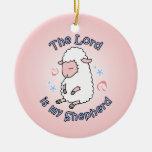 Lord Is My Shepherd Ornament