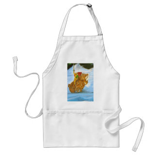 Lord Jamie Thorn Amber riding Bruno Adult Apron