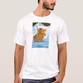Lord Jamie Thorn Amber riding Bruno T-Shirt
