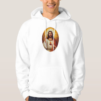 Lord Jesus Christ and the Sacred Heart Hoodie