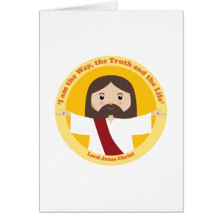 Lord Jesus Christ Greeting Card