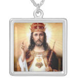 Lord Jesus Christ King of Kings Pendant