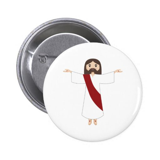 Lord Jesus Christ Pinback Buttons