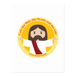 Lord Jesus Christ Postcard