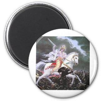 lord kalki 2 inch round magnet
