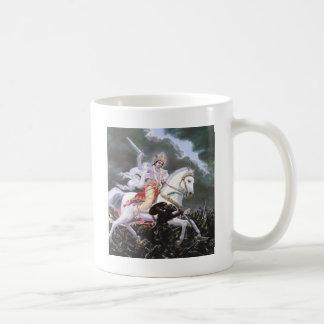 lord kalki classic white coffee mug