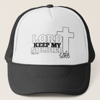 Lord Keep My Soldier Safe Trucker Hat