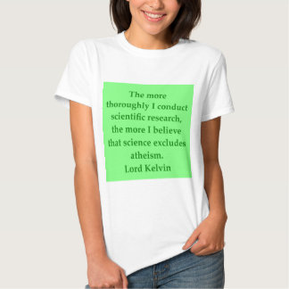 Lord Kelvin quote T-shirt