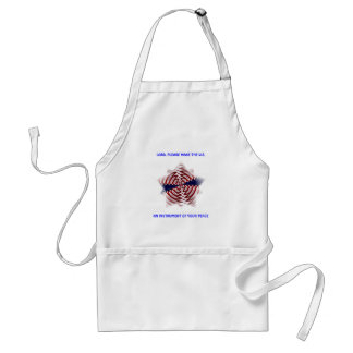 Lord...Make the U.S. an Instrument of Your Peace Adult Apron