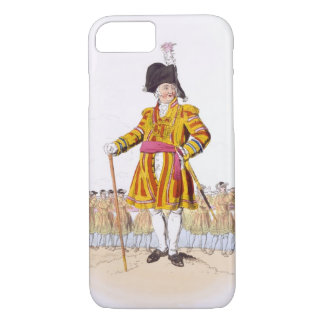 Lord Mayor, from 'Costume of Great Britain', publi iPhone 8/7 Case