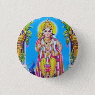 Lord Muruga, Hindu God Pinback Button