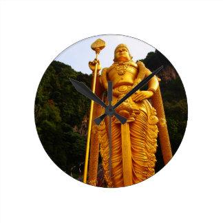 Lord Murugan Wall Clock