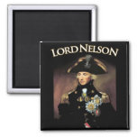 Lord Nelson 2 Inch Square Magnet