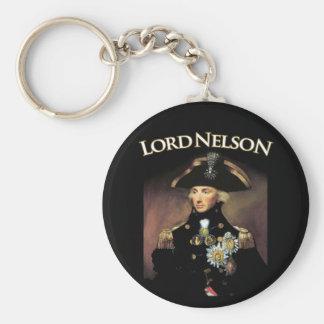 Lord Nelson Basic Round Button Keychain