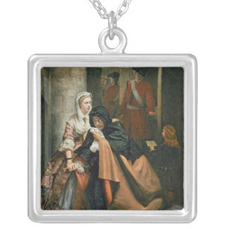 Lord Nithsdale, Escape from the Tower Silver Plated Necklace