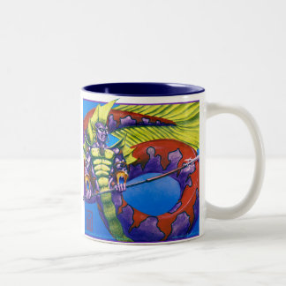 Lord of Atlantis Two-Tone Coffee Mug