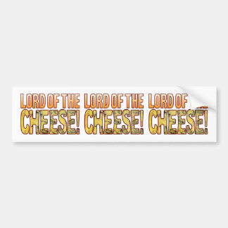 Lord Of Blue Cheese Bumper Sticker