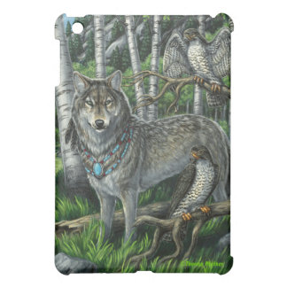 Lord of Falcons Wolf iPad Case