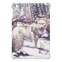 Lord of Owls Wolf iPad Case