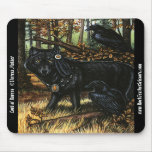 Lord of Ravens Mousepad Autumn Wolf