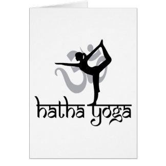 Lord Of The Dance Pose Hatha Yoga Card