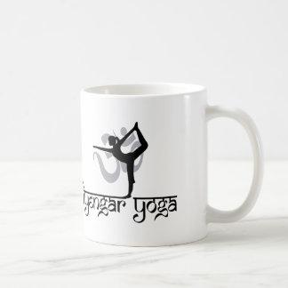 Lord of The Dance Pose Iyengar Yoga Gift Coffee Mug