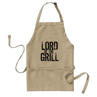 Lord of the grill adult apron